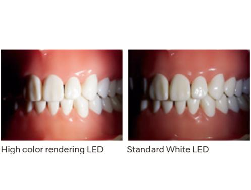 La visibilità è sensibilmente migliorata, grazie al LED a colori ad alta risoluzione